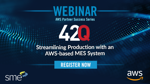 Streamlining Production with an AWS-based MES System