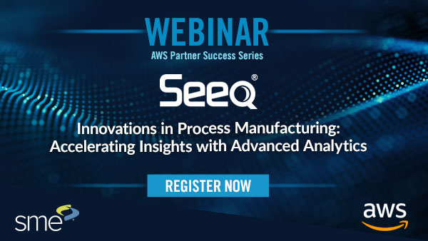 Innovations in Process Manufacturing: Accelerating Insights with Advanced Analytics
