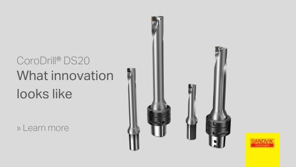 CoroDrill® DS20 Brochure - What innovation looks like