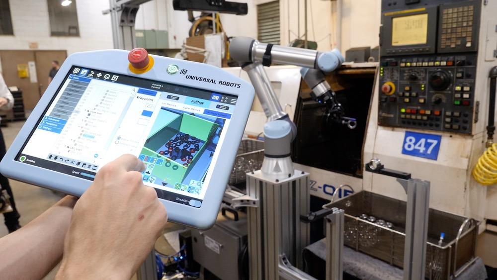 Next-Generation Cobot-Enabled Machine Loading